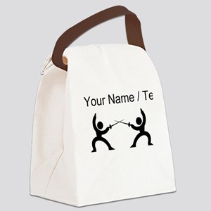 Custom Fencing Canvas Lunch Bag
