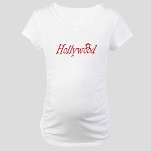 hollywood script Maternity T-Shirt