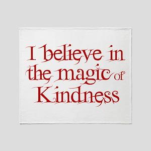 MAGIC OF KINDNESS Throw Blanket
