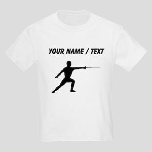 Custom Fencer Silhouette T-Shirt