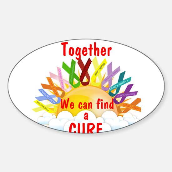 Together we can find a cure Decal