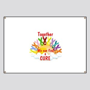 Together we can find a cure Banner