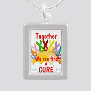 Together we can find a cure Necklaces