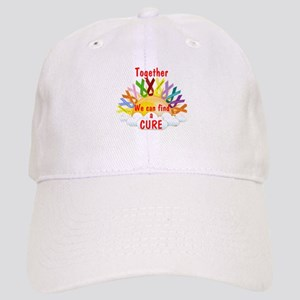 Together we can find a cure Baseball Cap