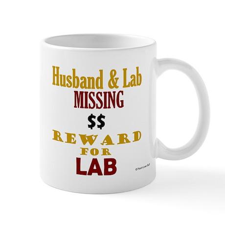 Husband & Lab Missing Mug