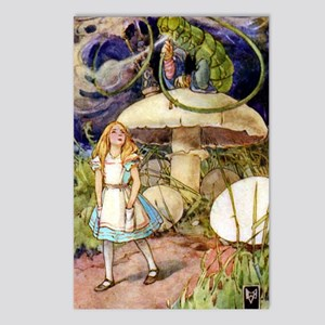 ALICE & THE CATERPILLAR Postcards (Package of 8)