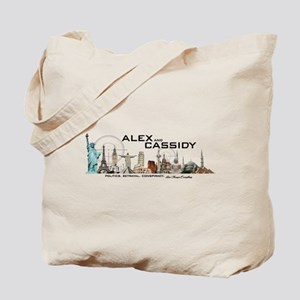 Alex and Cassidy Landmarks Tote Bag