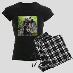 English Setter pup by Dawn Secord Pajamas