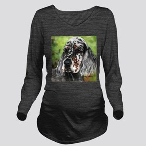 English Setter pup by Dawn Secord Long Sleeve Mate