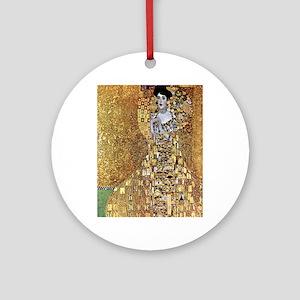 Adele Gustav Klimt Ornament (Round)
