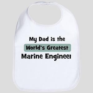 Worlds Greatest Marine Engine Bib