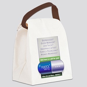 Fukitol Poster Canvas Lunch Bag