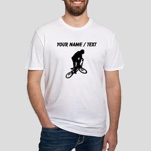 Custom BMX Biker Silhouette T-Shirt