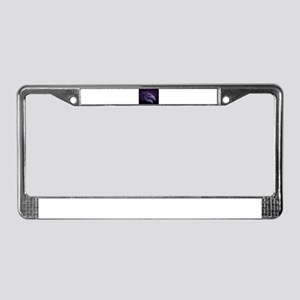 purple dragon License Plate Frame