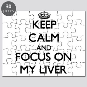 Keep Calm and focus on My Liver Puzzle