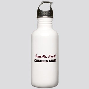 Trust me I'm a Camera Stainless Water Bottle 1.0L