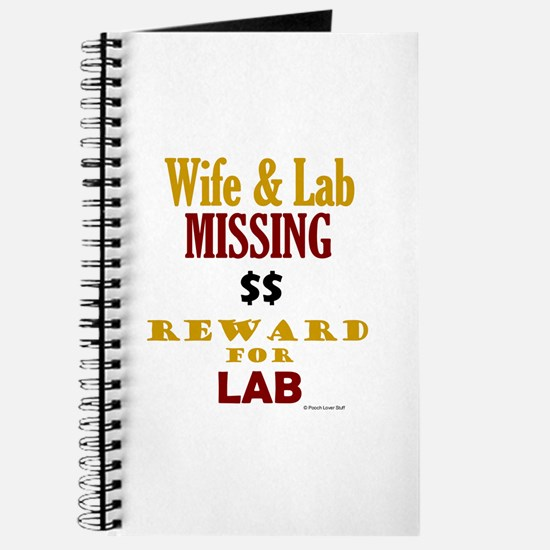 Wife & Lab Missing Journal