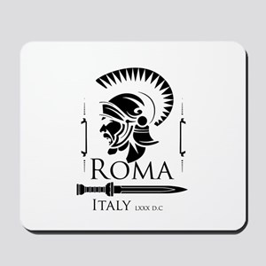 Roman Centurion with gladio Mousepad