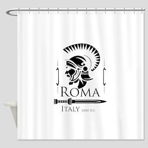 Roman Centurion with gladio Shower Curtain