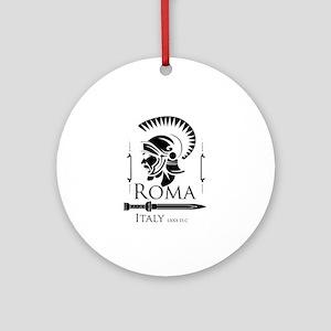 Roman Centurion with gladio Round Ornament