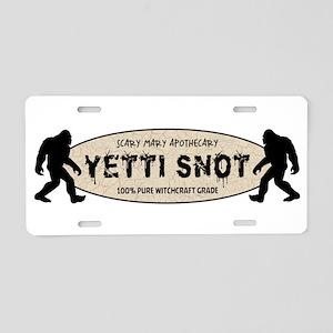 YETTI SNOT Aluminum License Plate