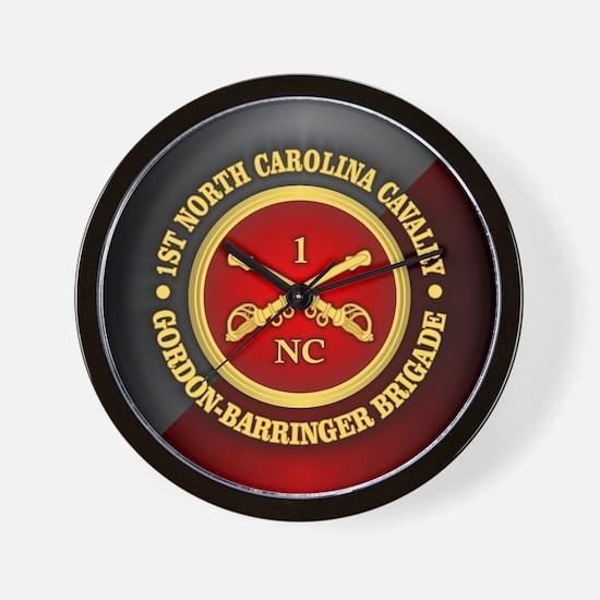 CSC-1st NC Cavalry Wall Clock