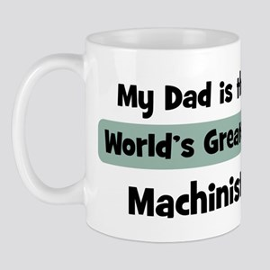 Worlds Greatest Machinist Mug