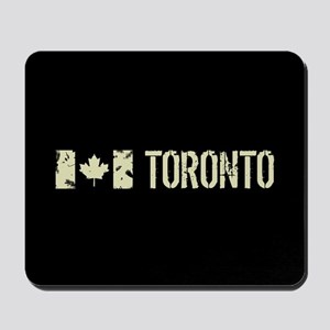 Canadian Flag: Toronto Mousepad