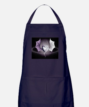 dragon love Apron (dark)