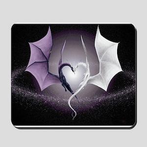 dragon love Mousepad