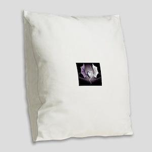 dragon love Burlap Throw Pillow