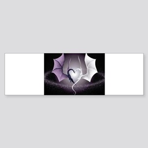 dragon love Bumper Sticker