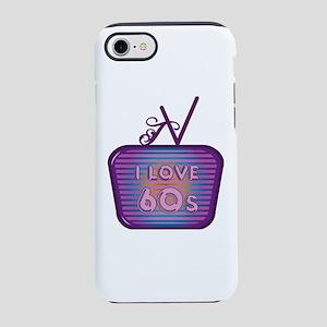 I Love 60's TV iPhone 7 Tough Case