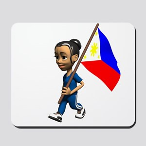 Philippines Girl Mousepad