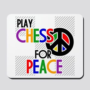 Play Chess For Peace Mousepad