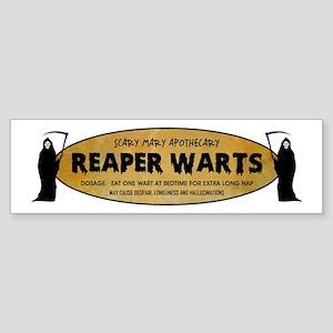 REAPER WARTS Sticker (Bumper)