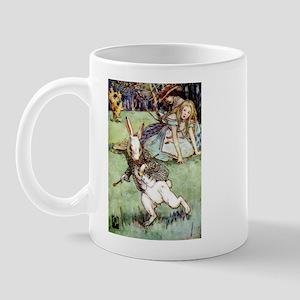 RABBIT DISTRACTION Mug