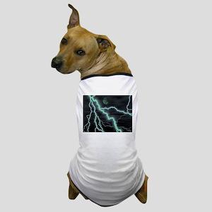 moon lightening Dog T-Shirt