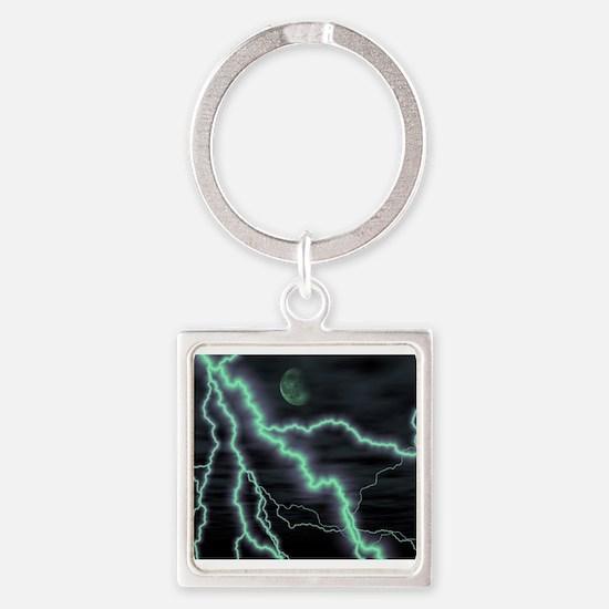 moon lightening Keychains