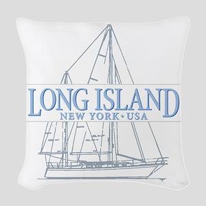 Long Island - Woven Throw Pillow