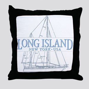 Long Island - Throw Pillow