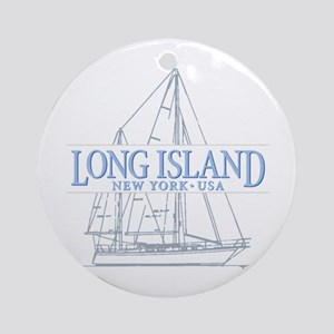 Long Island - Ornament (Round)