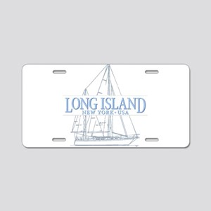 Long Island - Aluminum License Plate