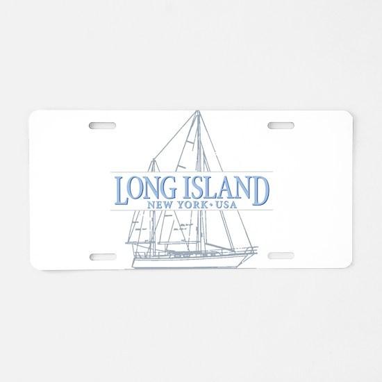 Long Island - Aluminum License Plate