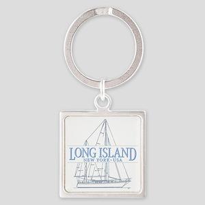 Long Island - Square Keychain