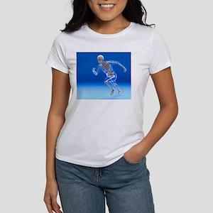Running skeleton in body, artwo T-Shirt