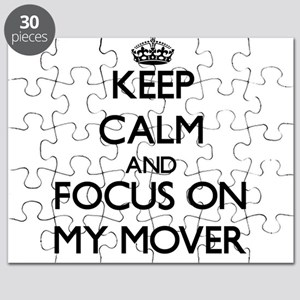 Keep Calm and focus on My Mover Puzzle