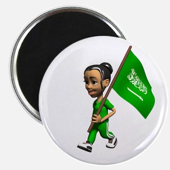 Saudi Arabia Girl Magnet
