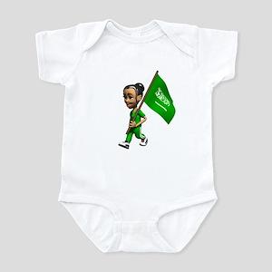 Saudi Arabia Girl Infant Bodysuit