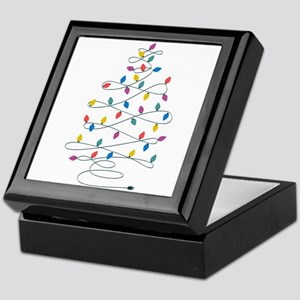 Christmas Lights Keepsake Box